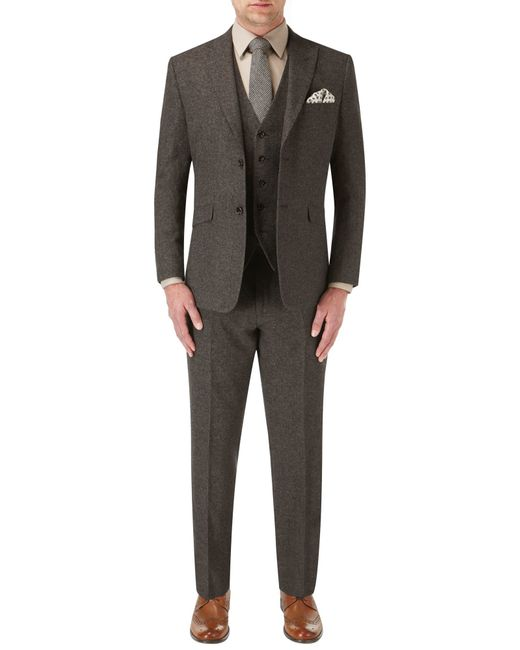 Skopes | Brown James Suit Trouser for Men | Lyst