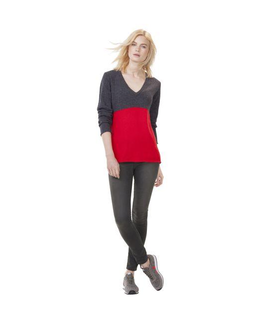 Baukjen | Gray Alina V-neck Jumper | Lyst