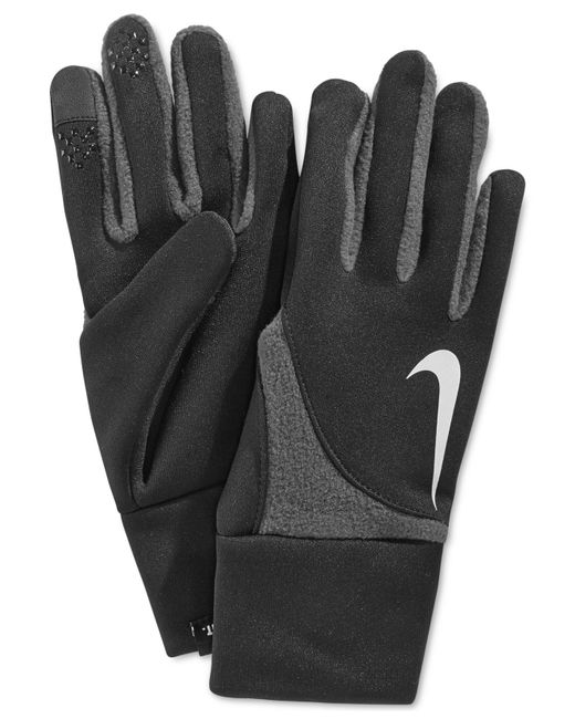 Nike Gloves Touch Screen: Nike Element Therma-fit Gloves In Black For Men