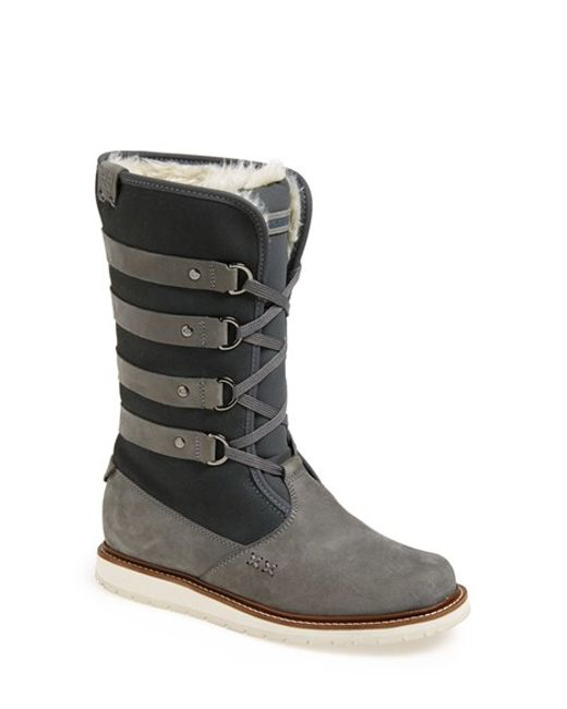 Helly Hansen | Gray 'hedda' Boot | Lyst