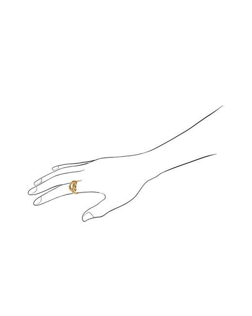Aurelie Bidermann | Metallic Lasso Ring | Lyst