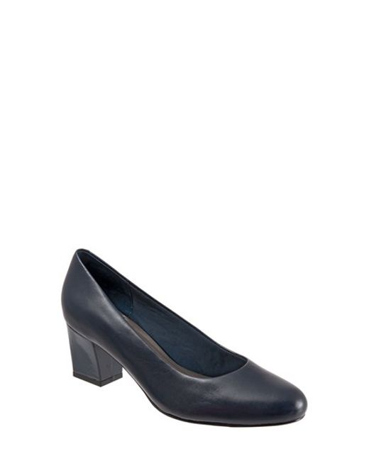 Trotters | Blue Candela Leather Pumps | Lyst