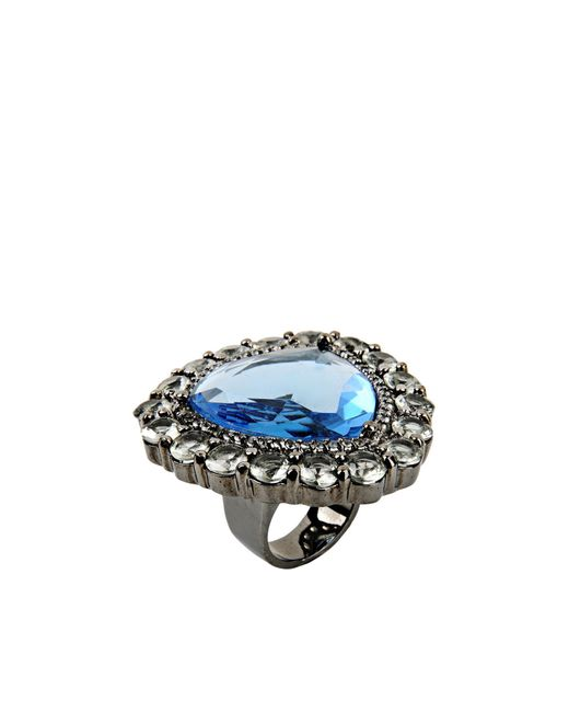 Noir Jewelry | Blue Ring | Lyst