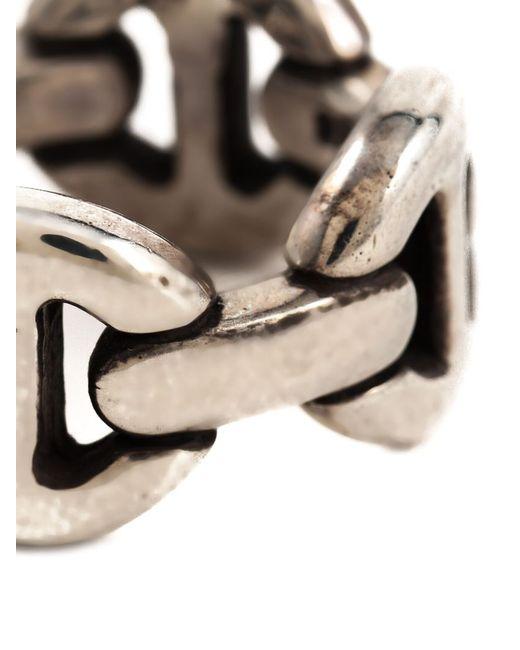 Hoorsenbuhs | Metallic 'quad-link' Ring | Lyst