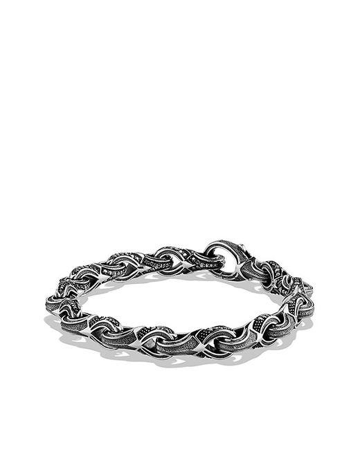 David Yurman | Armory Figure-eight Link Bracelet With Black Diamonds, 9.5mm for Men | Lyst