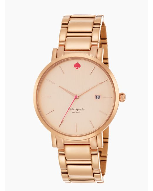 Kate Spade | Pink Gramercy Grand Watch | Lyst