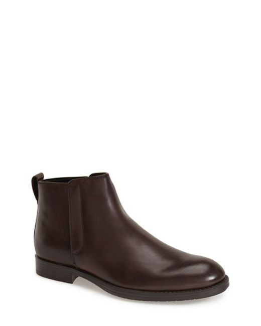 Calvin Klein | Brown 'hartley' Chelsea Boot for Men | Lyst