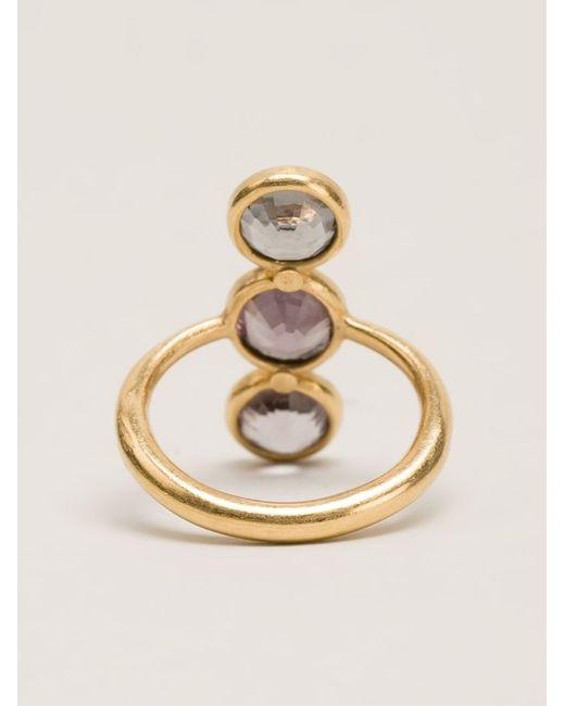 Marie-hélène De Taillac | Metallic 'goddess' Ring | Lyst
