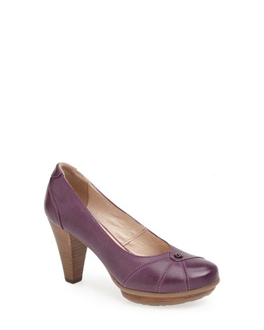 Blondo | Purple 'valence' Waterproof Platform Pump | Lyst