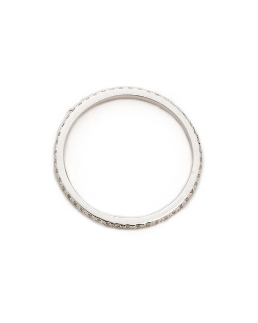 EF Collection | White Diamond Eternity Stack Ring | Lyst