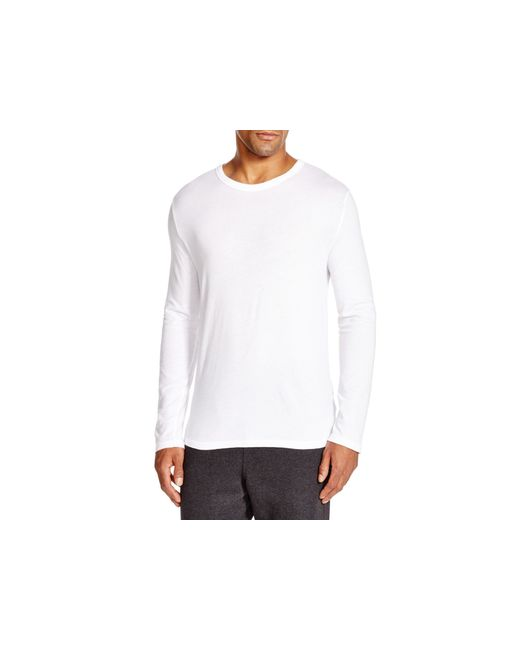T By Alexander Wang | White Classic Long Sleeve Tee for Men | Lyst