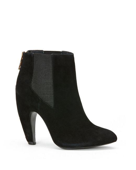 Rachel Zoe | Black Raylee Suede Ankle Booties | Lyst