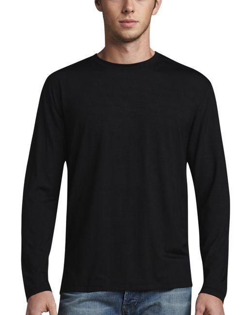 Derek Rose | Black Basel 1 Long-sleeve Jersey Tee for Men | Lyst
