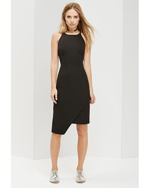 Forever 21 | Black Ministry Of Style Frosted Pencil Dress | Lyst