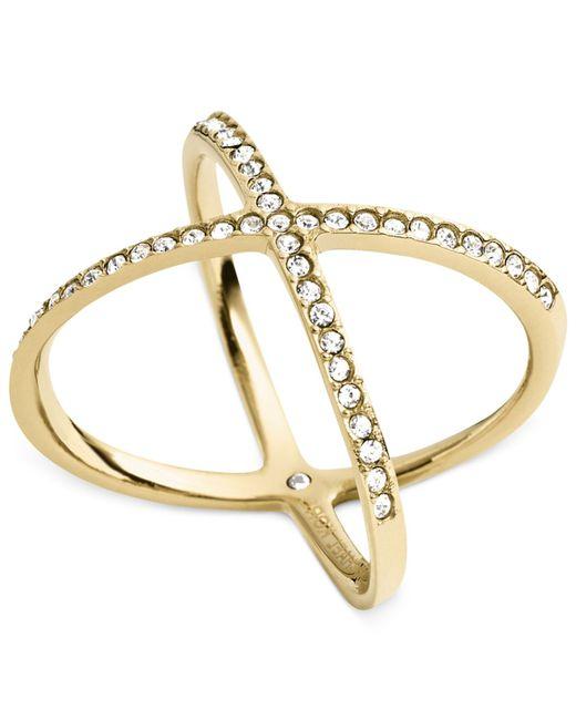 Michael Kors | Metallic Mkj4171710 Ladies Ring | Lyst