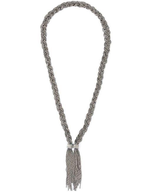 Aurelie Bidermann   Metallic 'miki Dora' Long Necklace   Lyst
