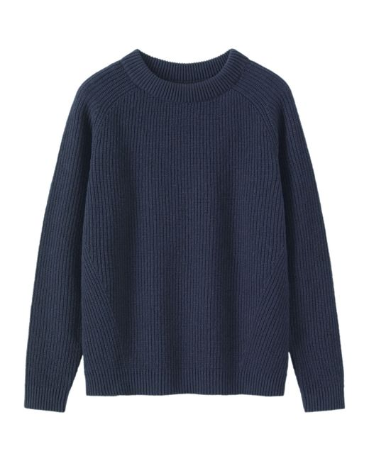 Toast | Blue Ribbed Wool Sweater | Lyst