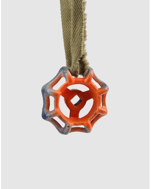 Stefania Pia | Orange Necklace | Lyst
