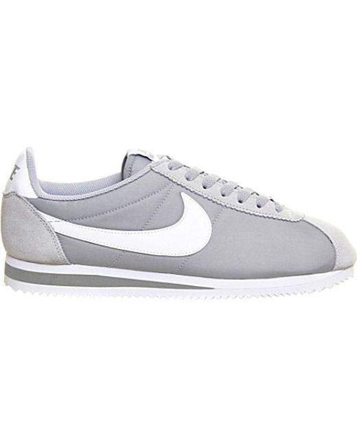 Nike | Gray Cortez Og Nylon Trainers for Men | Lyst