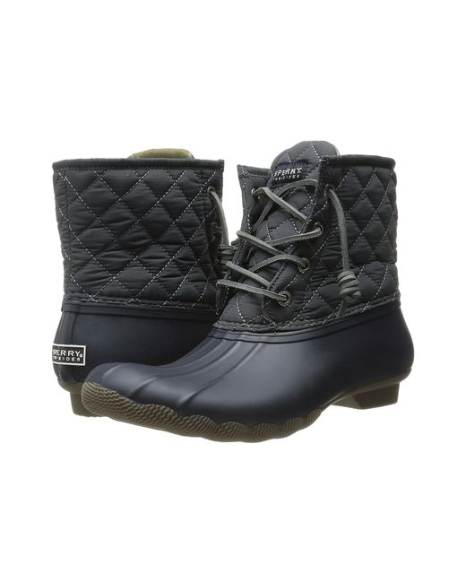 Sperry top-sider Saltwater Quilted Water-Resistant Boots ...