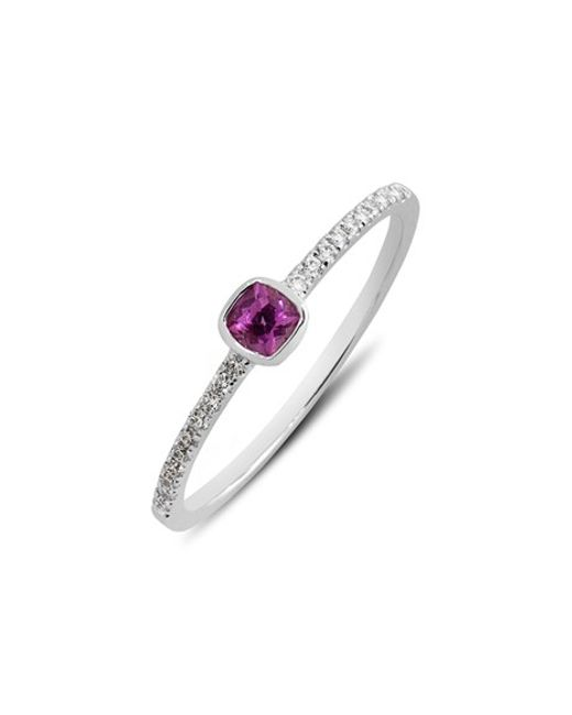 Bony Levy | Pink Semiprecious Stone & Diamond Ring (limited Edition) (nordstrom Exclusive) | Lyst