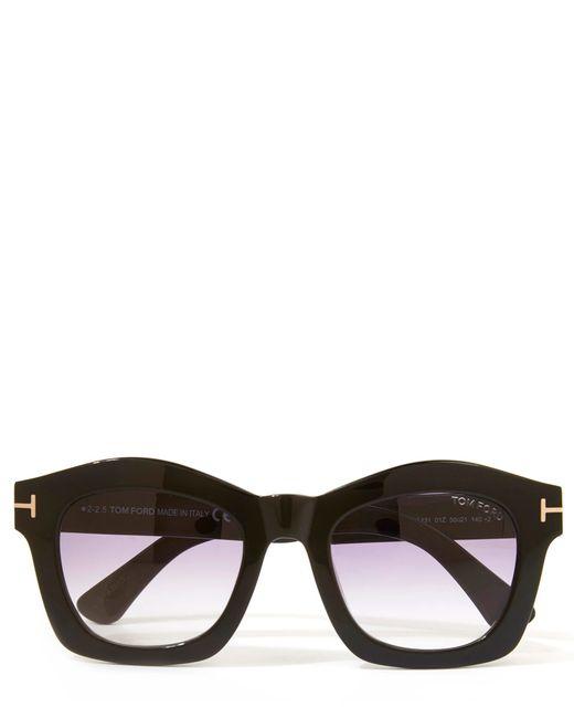 Tom Ford Black Greta Sunglasses In Black Lyst