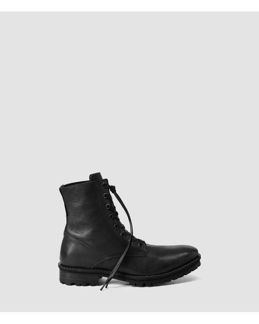 AllSaints | Black Neptune Boot for Men | Lyst
