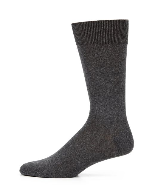 Saks Fifth Avenue | Gray Cotton-blend Dress Socks for Men | Lyst