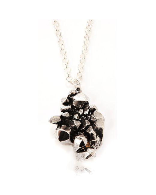 Rachael Ruddick | Metallic Cold Cast Crystal Cave Pendant | Lyst