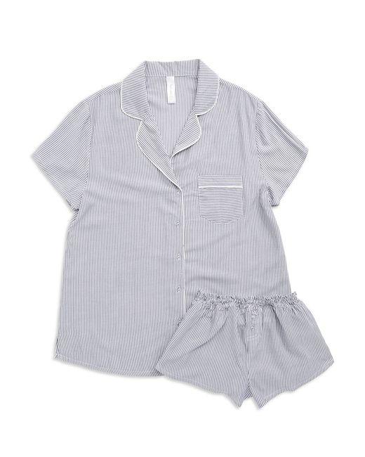 Splendid | Blue Woven Pajama Set | Lyst