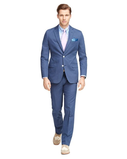 Brooks Brothers | Blue Fitzgerald Fit Twill Suit for Men | Lyst