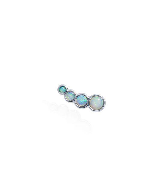 Lee Renee | Blue Opal Slider Mono Earring Right Ear | Lyst