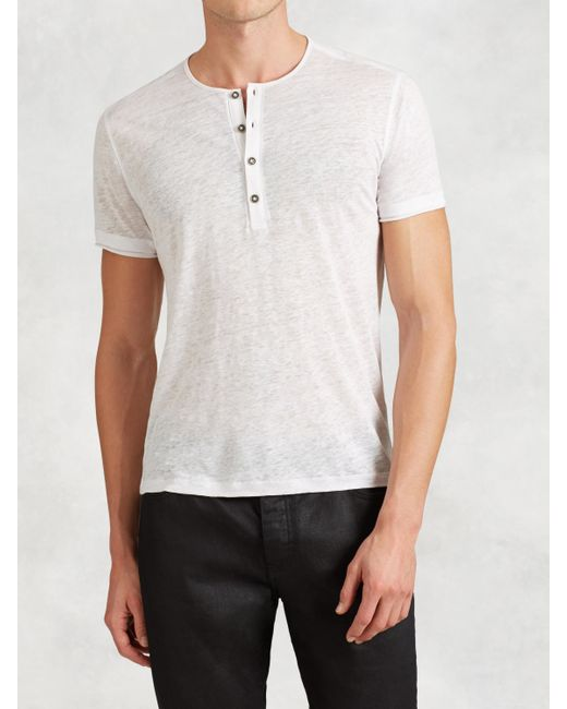 Free shipping and returns on Men's White Henley T-Shirts at humorrmundiall.ga