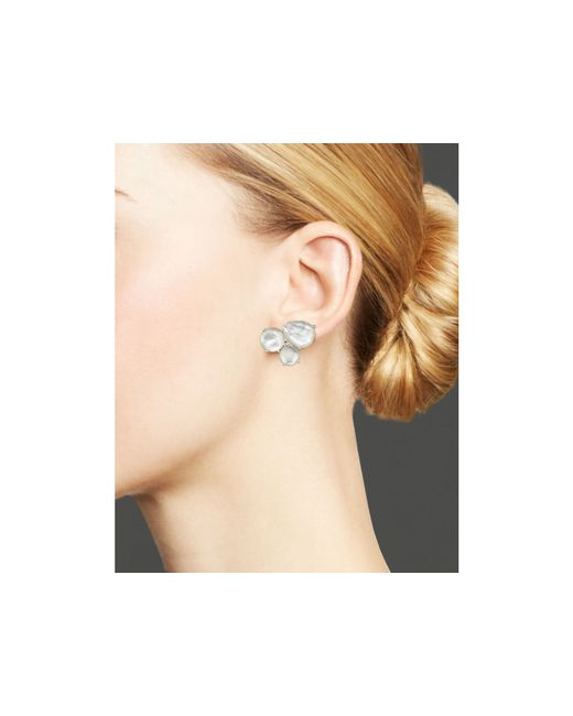 Ippolita | Metallic Rock Candy Rose Cluster Stud Earrings | Lyst