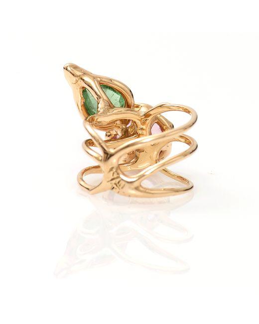 Lucifer Vir Honestus | Green Tourmaline Primavera Ring | Lyst