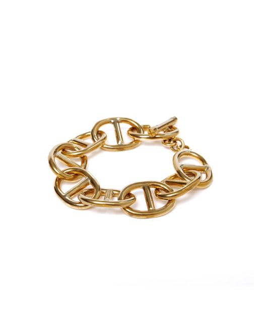 Winifred Grace   Metallic Sailor Chain Bracelet   Lyst