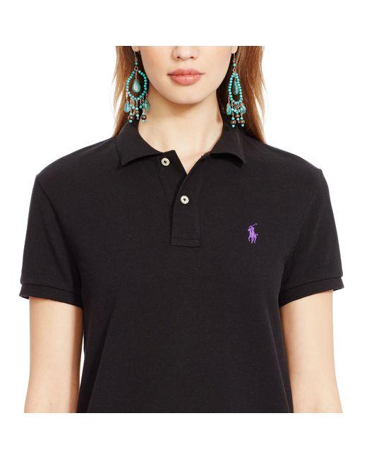 Polo Ralph Lauren   Black Classic-fit Polo Shirt   Lyst