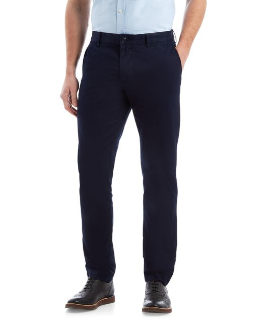 Lacoste | Blue Slim Fit Trousers for Men | Lyst