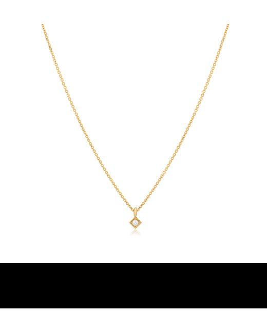 Jennie Kwon | Metallic Diamond Square Necklace | Lyst