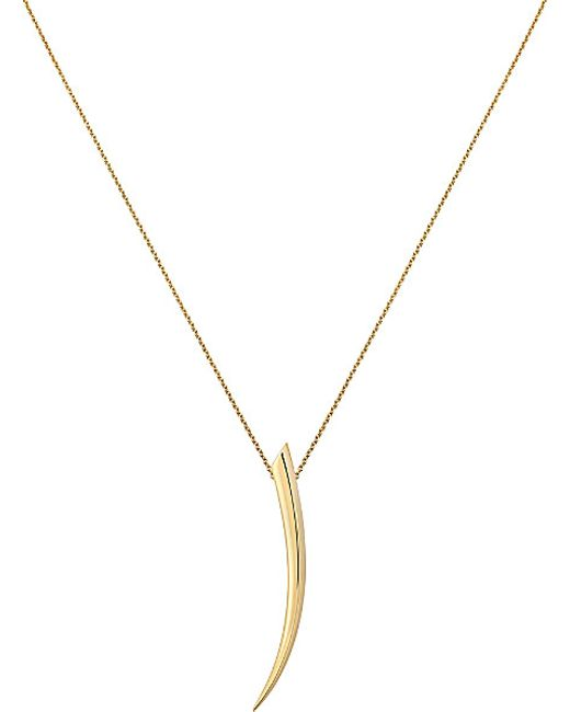 Shaun Leane | Sabre 18ct Yellow-gold Pendant | Lyst