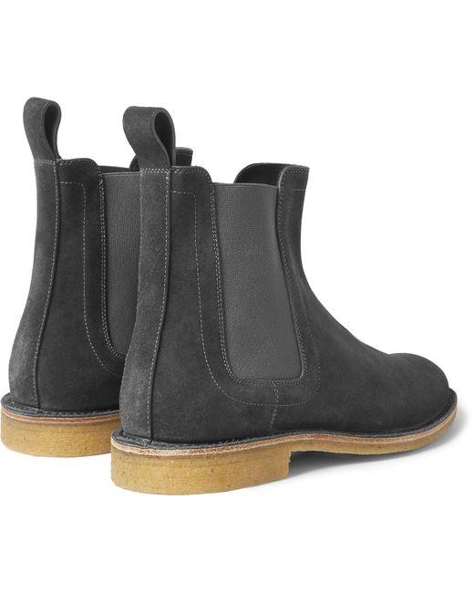 Original Bottega Veneta Chelsea Boot In Gray For Men Grey  Lyst