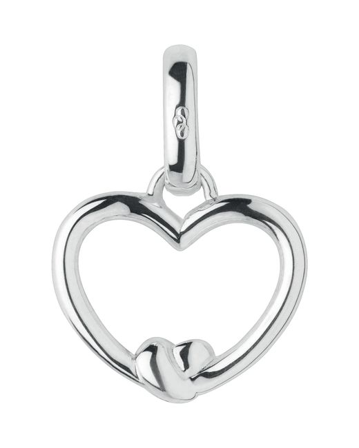Links of London | Metallic Tie The Knot Heart Charm | Lyst