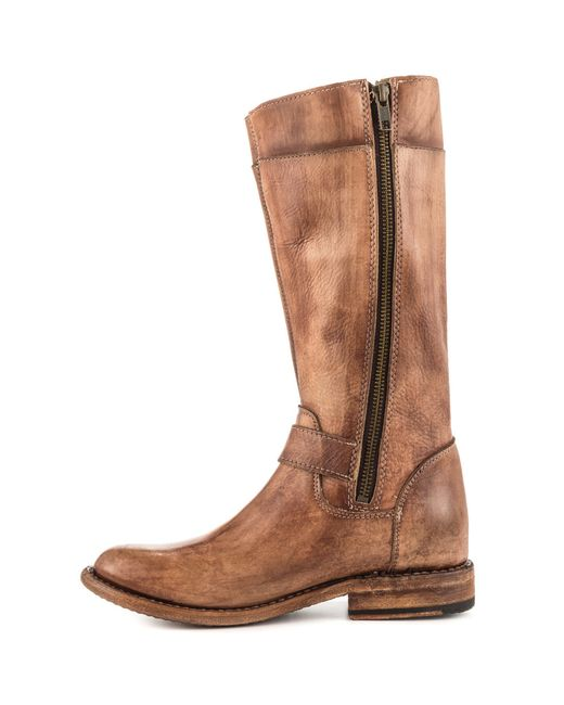 bed stu gogo toe synthetic mid calf boot in