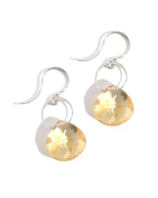 Melissa Joy Manning | Yellow Large Citrine Drop Earrings | Lyst