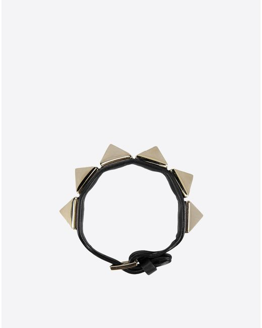 Valentino | Metallic Macro Stud Bracelet | Lyst