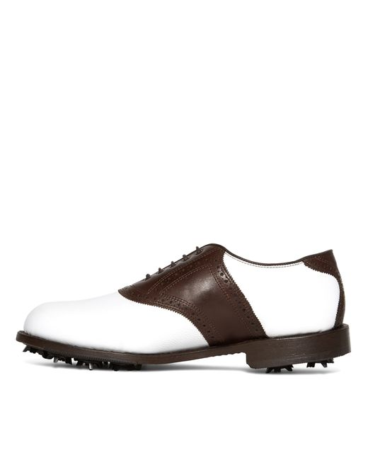 Brooks Brothers | White Redan Golf Shoes for Men | Lyst