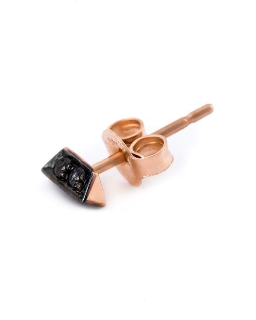 Selin Kent | Black 'sophia' Diamond Earring | Lyst