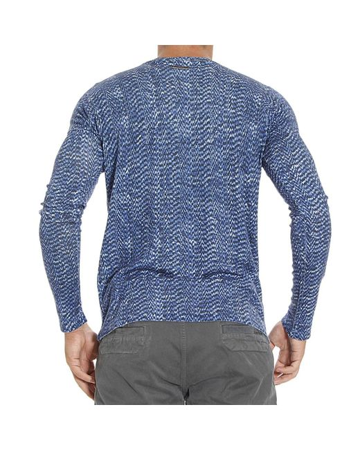 Just Cavalli | Blue Jumper for Men | Lyst