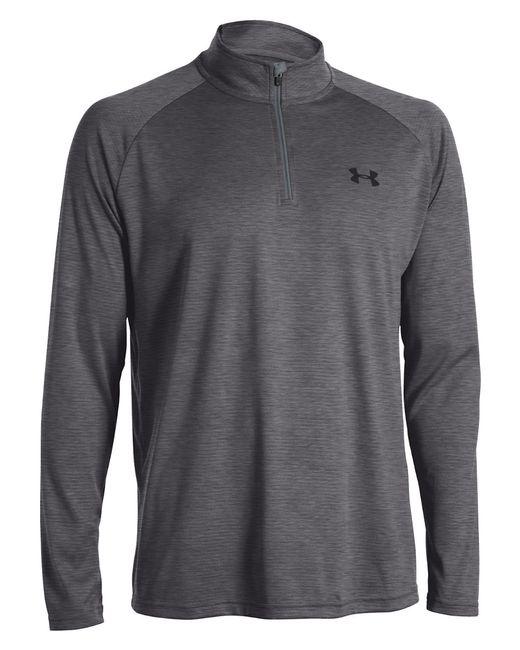Under Armour | Gray Tech Quarter-zip Shirt for Men | Lyst