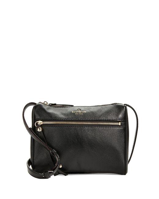 Kate Spade | Black 'cobble Hill - Deva' Leather Crossbody Bag | Lyst
